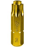 T-40 Spax T-Star Plus Drive bit. 25mm. Pack of 5.