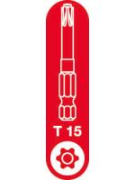 T-15 Spax T-Star Plus Drive bit. 50mm. Pack of 5.