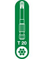 T-20 Spax T-Star Plus Drive bit. 50mm. Pack of 5.